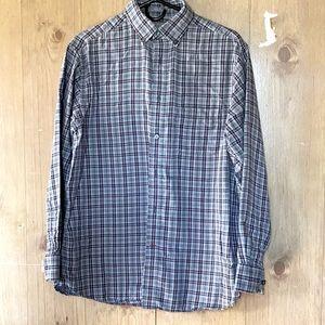 Men's Dress Shirt in Double Layer Cotton Flannel M
